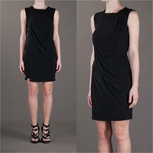 Helmut Lang Slink Seam Square Neck Dress